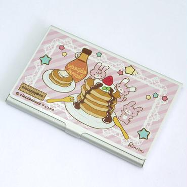 名刺ケース - うさぎらんど(パンケーキ)