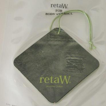 retaW car tag (EVELYN)