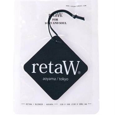 retaW car tag (NATURAL MYSTIC)