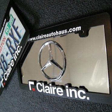 Claire inc. ナンバーフレーム