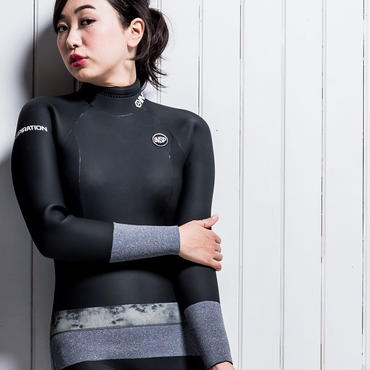 INSP WETSUITS LUNA BACK-ZIP