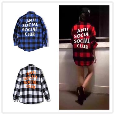 数量限定★希少 ANTI SOCIAL SOCIAL CLUB Kkoch Flannel シャツ