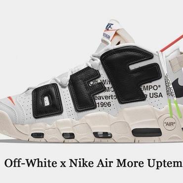 Off-White x Nike Air More Uptempo オフホワイトxナイキ スニーカー メンズ シューズ 入手困難!早い者勝ち!