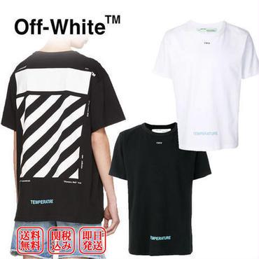 OFF-WHITEが魅せる☆定番人気のダイアログ☆オフホワイト DIAG TEMPERATURE