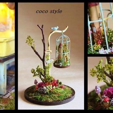 ガーデンと鳥かご