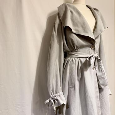 ライトグレー・ドレスコート(1990s France デッドストック)