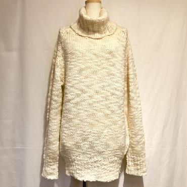 アイボリーWOOLニットセーター(1980s France)