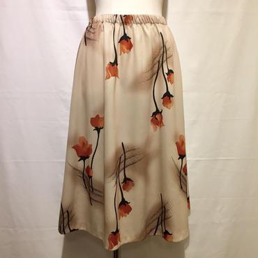 3フラワー・スカート(1970s UK)
