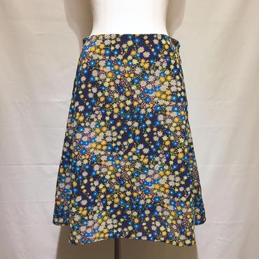 カラフル小花フレアスカート(1960s France)