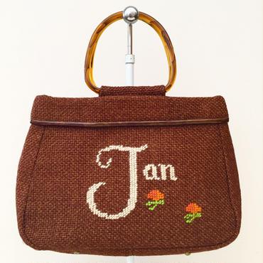 """ Jan "" ハンドバッグ(1950s U.S.A.)"