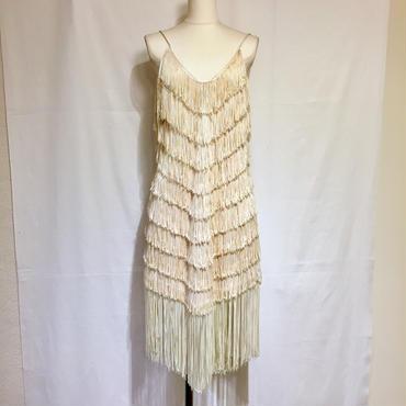 フリンジ・フラッパーズドレス(1960s U.K)(装苑1月号P44掲載)