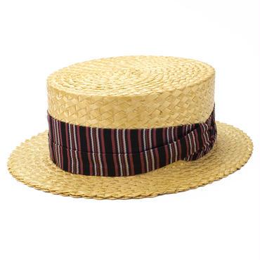 1920's ADAM アダム デッドストック ヴィンテージ カンカン帽 7 1/8