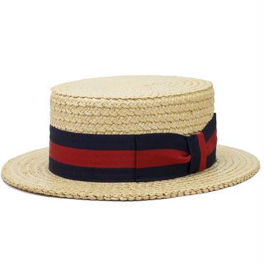 1940's デッドストック MADE IN ITALY カンカン帽 7 1/8
