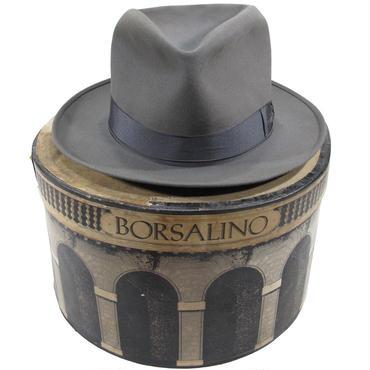 1950's ヴィンテージ ボルサリーノ フェドラハット&ボックス 7 1/2