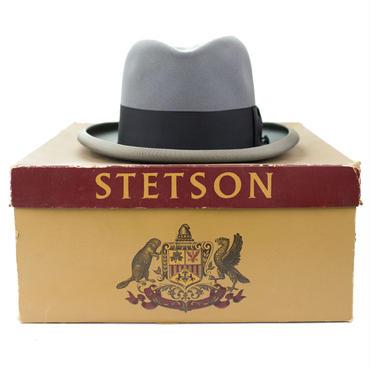 1950's ステットソン ロイヤルデラックス ホンブルグハット&ボックス 7 1/8