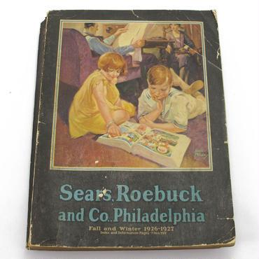 1926-1927 Sears Roebuck and Co ヴィンテージカタログ