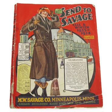 1923-1924 M.W.SAVAGE.CO ヴィンテージ ファッションカタログ