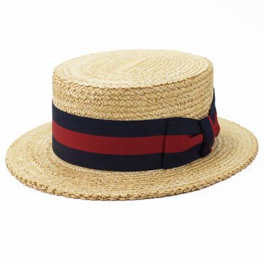 1950's Florence ITALY デッドストック ヴィンテージ カンカン帽 7 1/4