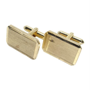 70s VINTAGE GOLD SQUARE CUFFLINKS