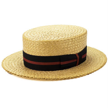 1920's COSMOPOLITAN NEW YORK ヴィンテージ カンカン帽 7 1/8