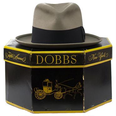 1950's DOBBS ドブス フェドラハット&オリジナルボックス 7