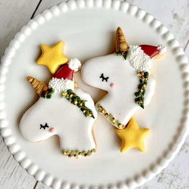 クリスマスアイシングクッキー ユニコーンセット