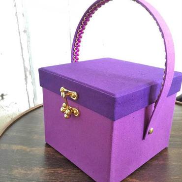 MB09 メイクセットボックスPetite 葡萄(紫)