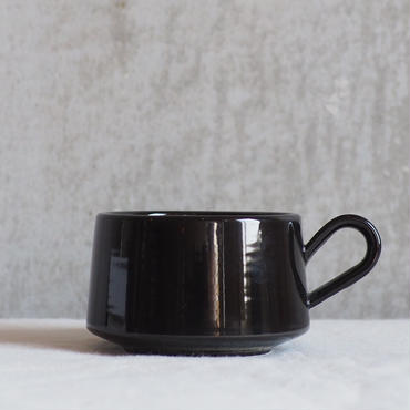 Daily MUG # black【3rd ceramics】