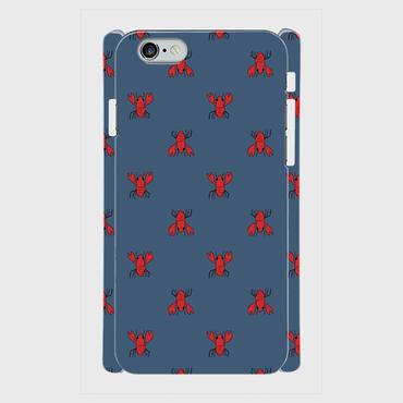 MOMENT ZARIGANI NAVY 側表面印刷スマホケース iPhone6/6S