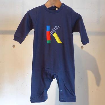MOMENT(モーメント) 名入れ刺繍ロンパース K
