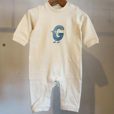 MOMENT(モーメント) 名入れ刺繍ロンパース G