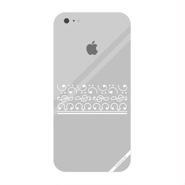 iPhone5/5s/SEケース[白][透明]