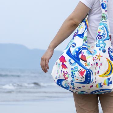 沖縄 ちゃぁがんじゅう マザーズバッグ
