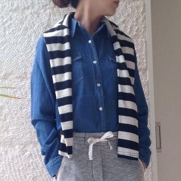 ★4212円→3120円★定番!デニムシャツ(2color)【クリックポスト対象商品】