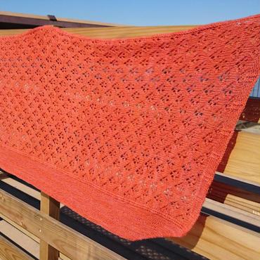 Alyssum shawl(アリッサムショール)