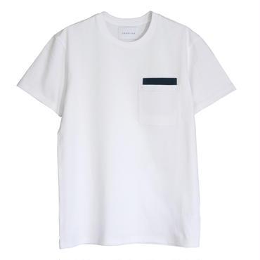 POCKET ON POCKET  T-SHIRTS  WHITE