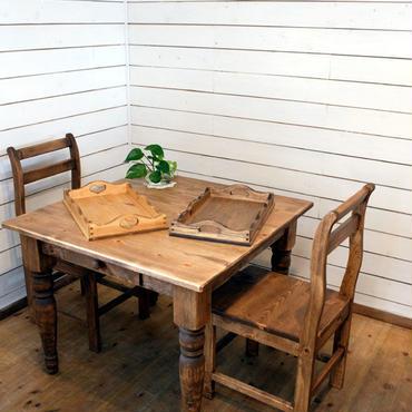 パインダイニングテーブル 900 チェアーセット