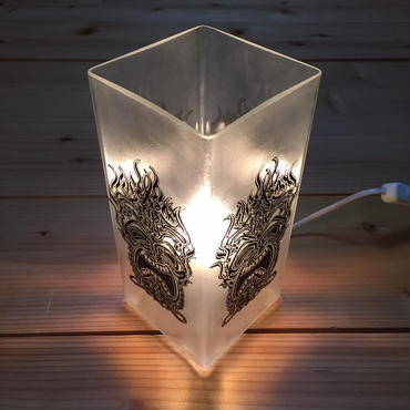 """MOZYSKEY"" TIKI LAMP SHADE"