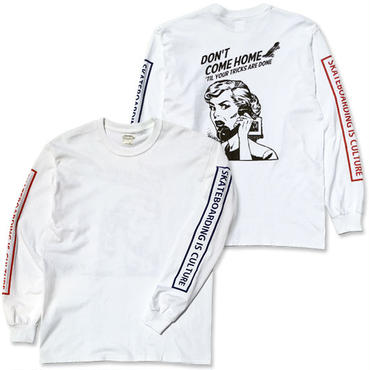 "CREIGHT ""SPARTA MOM LTD L/S TEE"" / WHITE"