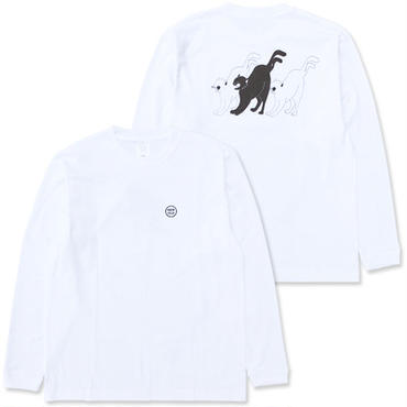 "NEW OLD ""NECO L/S Tee"" / WHITE"