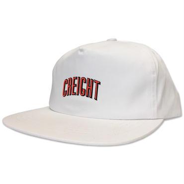 "CREIGHT ""LOGO UNSTRUCTURED CAP"" / WHITE"
