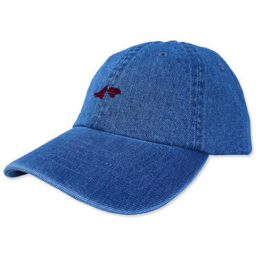 "【LimitedEdition】CREIGHT CUSTOMWORKS ""6PANEL CAP"" / L.BLEU DENIM"