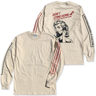 "CREIGHT ""SPARTA MOM LTD L/S TEE"" / NATURAL"