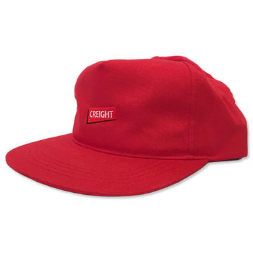 """【再入荷】CREIGHT """"UNSTRUCTURED CAP"""" / RED"""