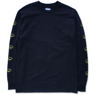"CREIGHT CUSTOMWORKS ""POCKET L/S TEE"" / BLACK"