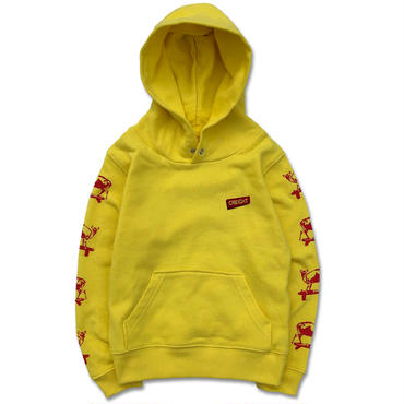 """CREIGHTキッズ""""KYON 8.4oz PullOver""""YELLOW"""