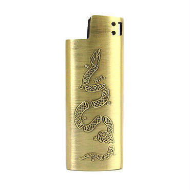 "GOOD WORTH ""JOIN OR DIE LIGHTER CASE -SMALL "" ( x 68&BROTHERS )"