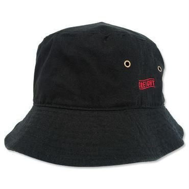 """CREIGHT  """"Bucket Hat"""" / BLACK"""