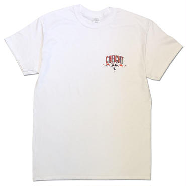 "CREIGHT×MHAK ""FRIENDSHIP COLLECTION"" TEE / WHITE"
