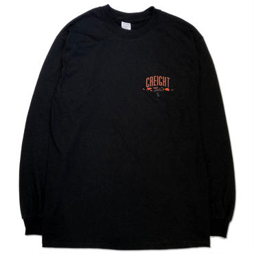 "CREIGHT×MHAK ""FRIENDSHIP COLLECTION"" L/S TEE /BLACK"